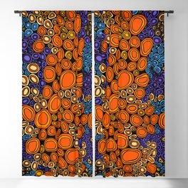 Authentic Aboriginal Art - Untitled Blackout Curtain