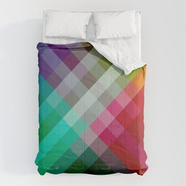 Rainbow 3 color Comforters