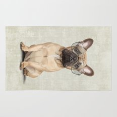 Mr French Bulldog Rug