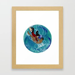 Dhon Hiyala aai Alifulhu Framed Art Print