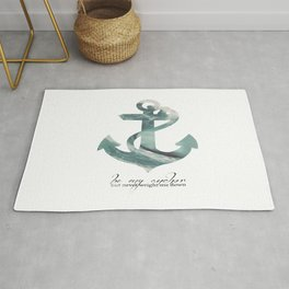 Be my Anchor Rug