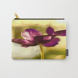 Glowing Purple Flower #decor #buyart #society6 Carry-All Pouch