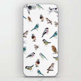 I love birds iPhone Skin