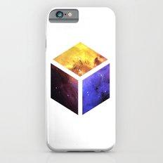 Nebula Cube - White iPhone 6s Slim Case