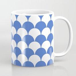 Fan Pattern 321 Blue Coffee Mug