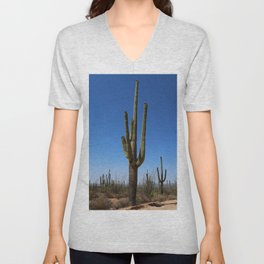 Reaching For The Sky Unisex V-Neck