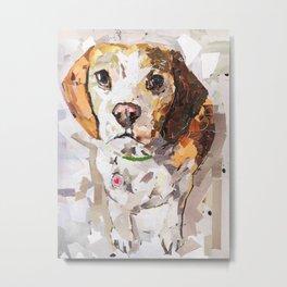 Annie - The Beagle Metal Print