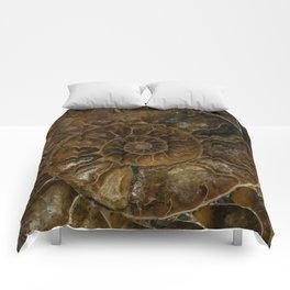 Earth treasures - brown amonite Comforters