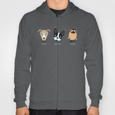 Three wise dogs Hoody
