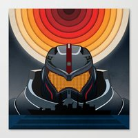 pacific rim Canvas Prints featuring Pacific Rim by milanova