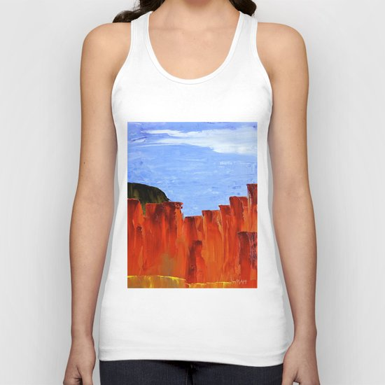 High Desert Canyons Unisex Tank Top