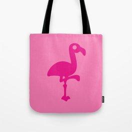 Pink Simple Flamingo Tote Bag