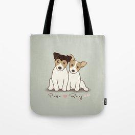 Pogo and Roxy Tote Bag