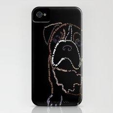 Bulldog Pup Slim Case iPhone (4, 4s)