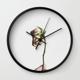 A Beautiful Demise IIII Wall Clock