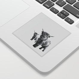 HIGHLAND COW - LULU & SARA Sticker