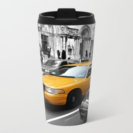 NYC Yellow Cabs Avenue - USA Travel Mug