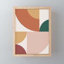 Abstract Geometric 13 Framed Mini Art Print