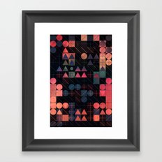 shww thyrww Framed Art Print