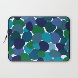 Seaglass Stones In Blue, Turquoise And Green Laptop Sleeve