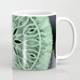 Mint Green 3D Faux Embroidery Coffee Mug