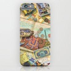 Vintage World Traveler Slim Case iPhone 6s