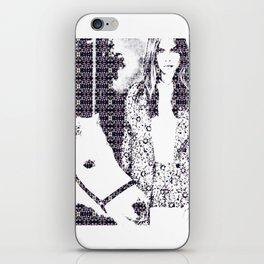Cara and her Horse iPhone Skin