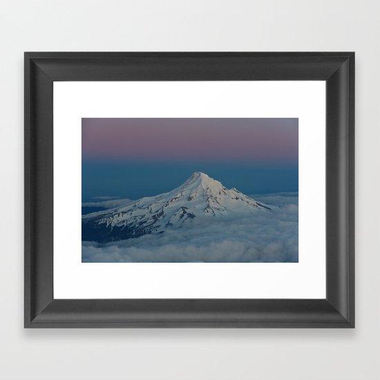 Flyby Framed Art Print