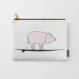 Surfing Pig Carry-All Pouch