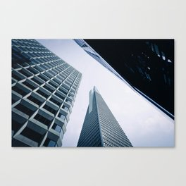 Look up! Canvas Print