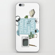 Introverts Paradise iPhone & iPod Skin