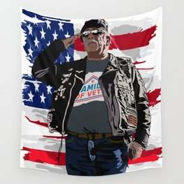 Family of Veterans Wall Tapestry