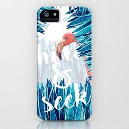 HIDE & SEEK iPhone Case