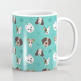 Dog Pattern Coffee Mug