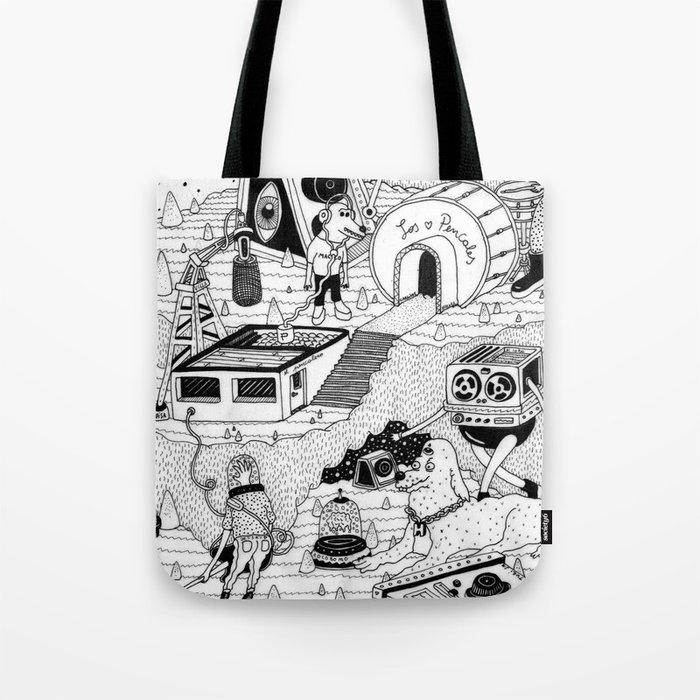 EL TANQUE CARCEDO Tote Bag