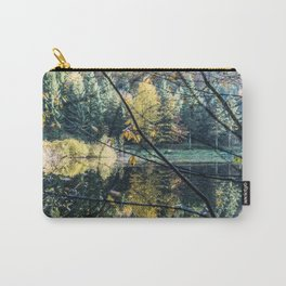 French lake in autumn Carry-All Pouch