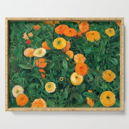Marigolds by Koloman Moser, 1909 Serving Tray