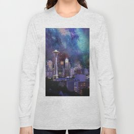 Spacey Seattle Long Sleeve T-shirt
