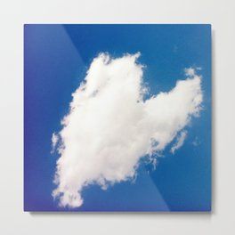 Heart 2: Cloud Metal Print