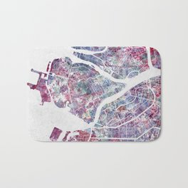 Saint Petersburg map Bath Mat