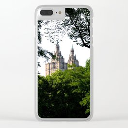 The Upper West Side Clear iPhone Case