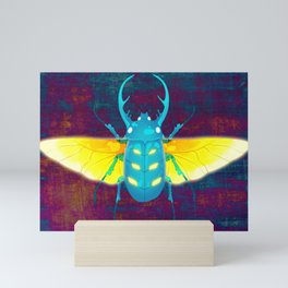 Blue Beetle Mini Art Print