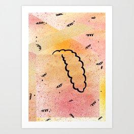 Tonguegradé Art Print