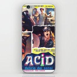 Acid - Delirio dei sensi iPhone Skin
