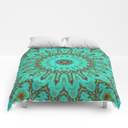 Kaleido in Oxidized Copper Comforters