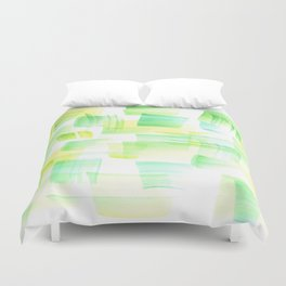 180527 Abstract Watercolour 21| Watercolor Brush Strokes Duvet Cover