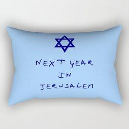 Next year in Jerusalem 8 Rectangular Pillow