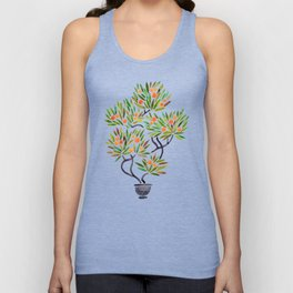 Bonsai Tree – Orange Fruit Unisex Tank Top