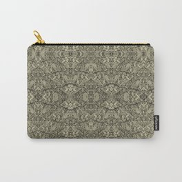 Vintage kaleidoscopic knitting endpaper Carry-All Pouch