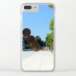 Tel Aviv photo - Habima Square - Israel Clear iPhone Case
